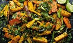 Curry roasted root vegetables with - 385 Veggie Swaps Recipes - RecipePin.com