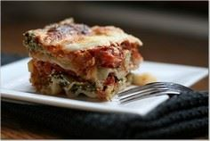 Lasagna with zucchini and yellow s - 55 Yellow Summer Squash Recipes - RecipePin.com