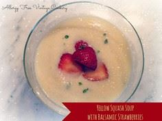 Yellow Squash Soup with Balsamic S - 55 Yellow Summer Squash Recipes - RecipePin.com